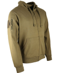 Kombat uk Spec Ops Military Fleece Hoodie Tactical Hoody Coyote Desert Sand